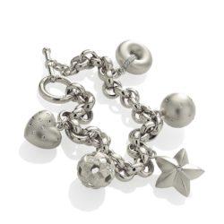 Charm-Bracelet-Platinum wht 800
