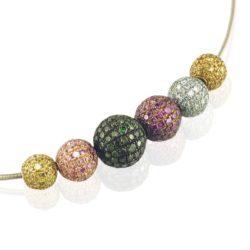 Diamond Pave Balls