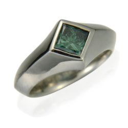 Man Green Diamond wht 800