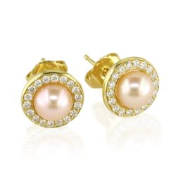 pink pearl studs wht 800