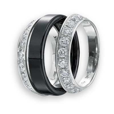 Diamond Bookend Eternity Bands