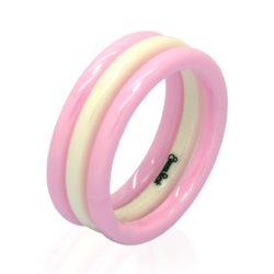 2mm pink white wht big