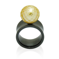 faceted golden wht big